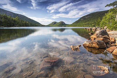 Jordan Pond Photograph - Afternoon By The Pond by Marco Crupi