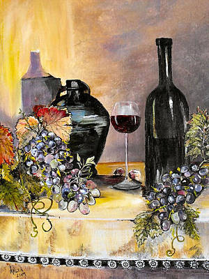 Afternoon Delight Print by Arlen Avernian Thorensen