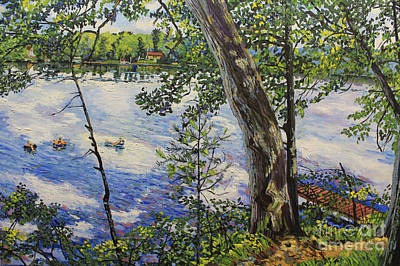 Bukowski Painting - Afternoon Float by William Bukowski