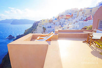 Vacances Photograph - Afternoon Sunlight by Aiolos Greek Collections