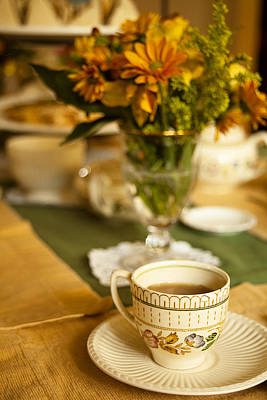 Tea Party Photograph - Afternoon Tea Time by Andrew Soundarajan