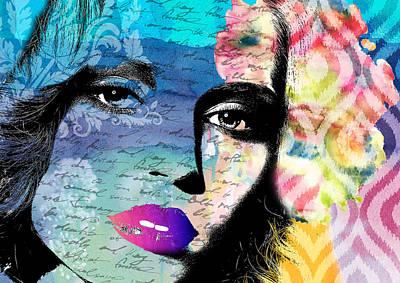 Waiting Digital Art - Again by Ramneek Narang