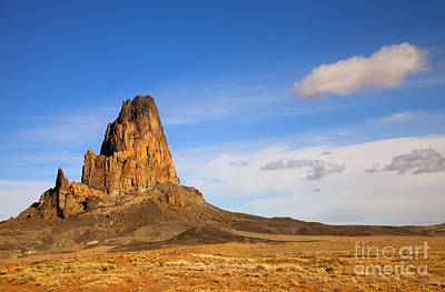 Plug Photograph - Agathia Peak by Mike  Dawson