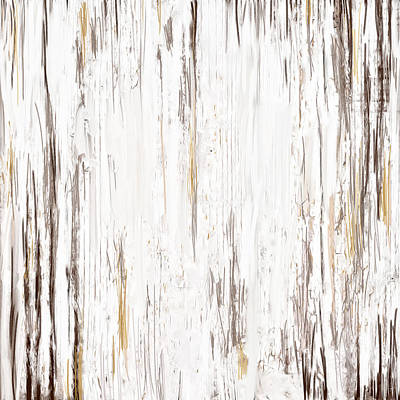 Beige Painting - Aged Allure by Lourry Legarde