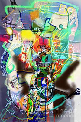 Inner Self Digital Art - Self-renewal 14p by David Baruch Wolk