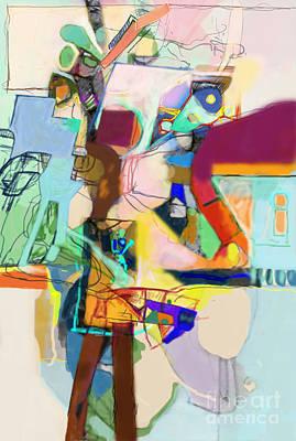 Inner Self Digital Art - Self-renewal 17i by David Baruch Wolk