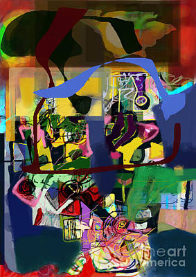 Tzaddik Digital Art - Aging Process 20g4 by David Baruch Wolk
