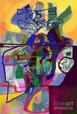 Inner Self Digital Art - Self-renewal 22f by David Baruch Wolk
