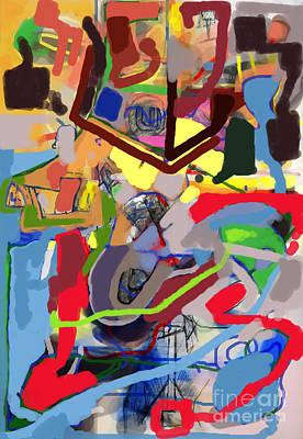 Inner Self Digital Art - Self-renewal 23f by David Baruch Wolk