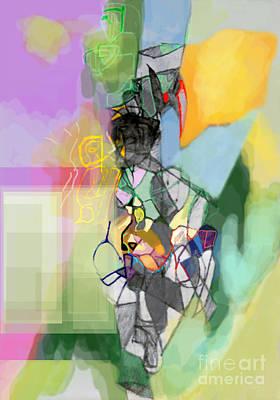 Tzaddik Digital Art - Self-renewal 11cf by David Baruch Wolk