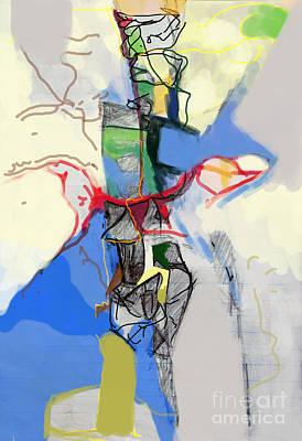 Inner Self Digital Art - Self-renewal 21e by David Baruch Wolk