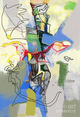 Inner Self Digital Art - Self-renewal 21f by David Baruch Wolk