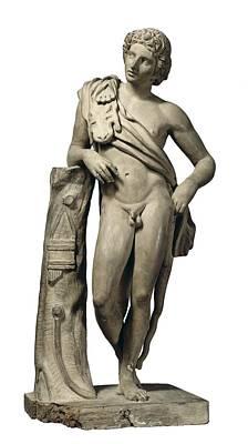 Ceramics Photograph - Agreda, Esteban De 1759-1842. Faun by Everett