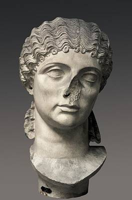 Statue Portrait Photograph - Agrippina The Elder 14bc-33. Prominent by Everett