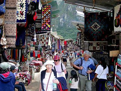 Peru Photograph - Aguas Calientes Market by Roger Burkart