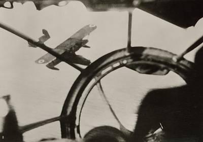 World War Ii Bomber Photograph - Air Combat by Eye On The Reich: German Propaganda Photographs/new York Public Library