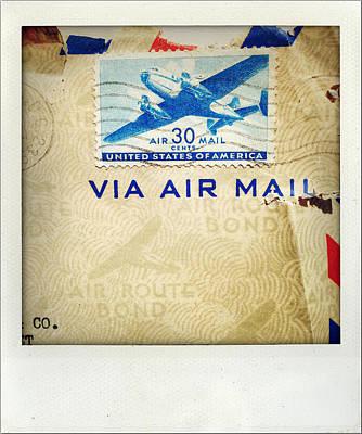 Air Mail Print by Les Cunliffe