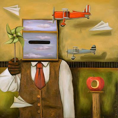 Air Space Original by Leah Saulnier The Painting Maniac