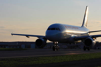 Star Alliance Airlines Photograph - Airbus 319 Air Canada In Ottawa International Airport Yow Canada by Andrei Filippov