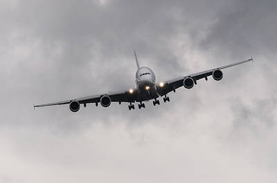 Airbus A380 Print by Dutourdumonde Photography