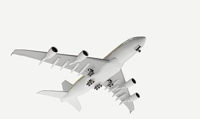 Airbus Flying Print by Dorling Kindersley/uig