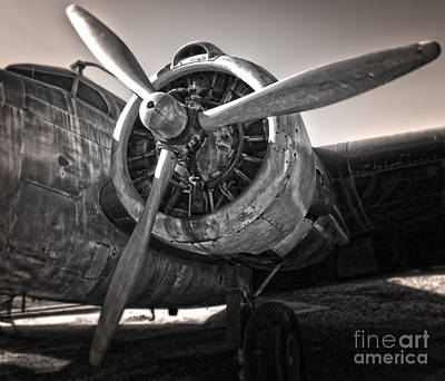 Airplane Propeller - 05 Print by Gregory Dyer