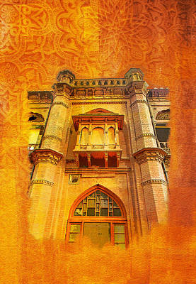Lahore Painting - Aitchison College by Catf