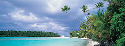 Aitutak Cook Islands New Zealand Print by Panoramic Images