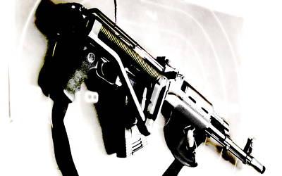 Gun Photograph - AKM by VRL Art