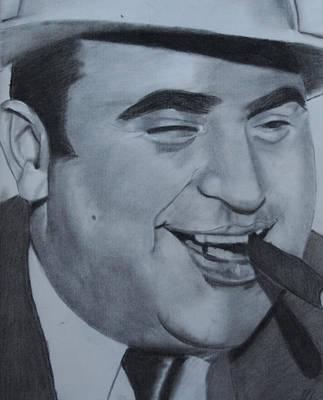 Al Capone Print by Aaron Balderas