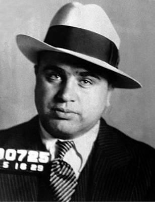 Al Capone, American Mobster Print by Science Source