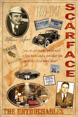 Al Capone Print by Andrew Fare