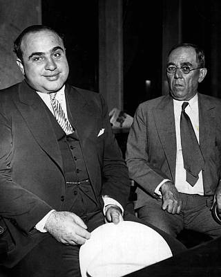 Mob Photograph - Al Capone Gangster by Retro Images Archive
