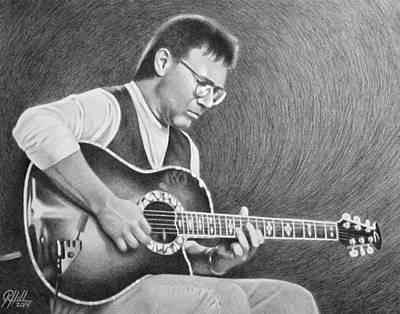 Eric Clapton Drawing - Al Di Meola II by Ryan Hill