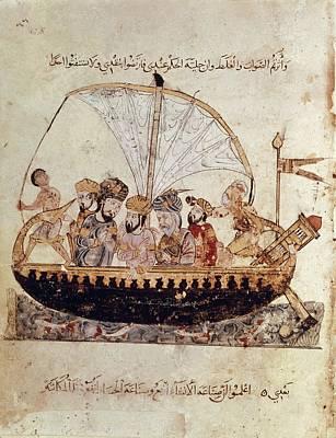 Al-hariri Of Basra 1054-1122. Arab Print by Everett