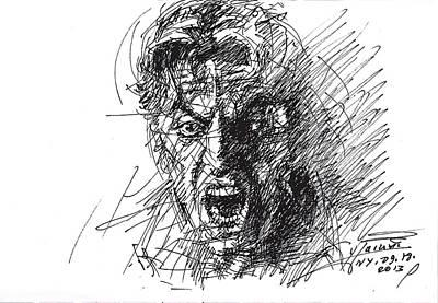 Heat Drawing - Al Pacino by Ylli Haruni