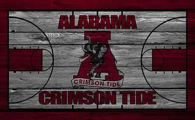 Alabama Crimson Tide Print by Joe Hamilton