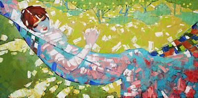 Alabaster Noon  Print by Anastasija Kraineva