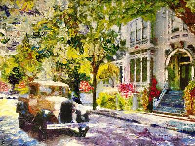 Alameda  Afternoon Drive Original by Linda Weinstock