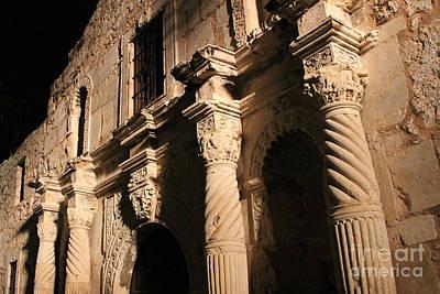 Alamo Detail #1 Original by Paul Anderson