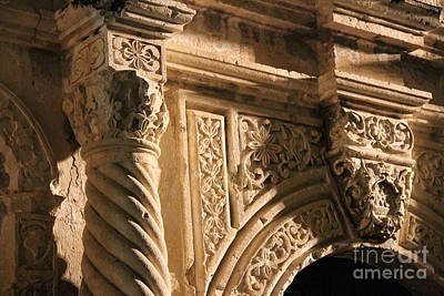 Alamo Detail #2 Original by Paul Anderson