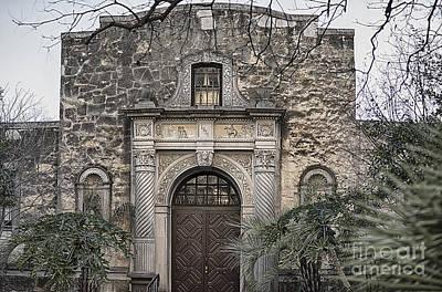 Alamo North End Print by Jeremy Linot