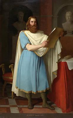 Antonio Maria Esquivel Painting - Alaric II King Of The Visigoths by Antonio Maria Esquivel