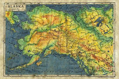 Alaska 1906 Original by Lisa Middleton
