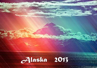 Alaska 2013 Print by Debra  Miller