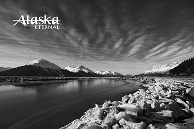 Night Photograph - Alaska-eternal by Ted Raynor