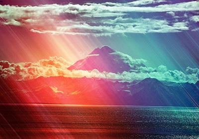 Alaska Landscape Print by Debra  Miller