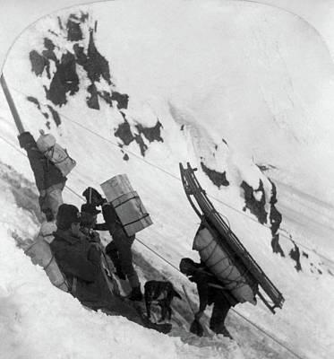 Alaska Miners, C1898 Print by Granger