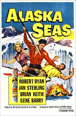 Alaska Seas, Us Poster, From Left Jan Print by Everett