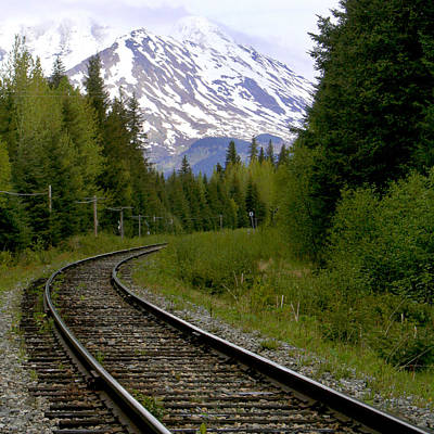 Alaskan Tracks Print by Art Block Collections